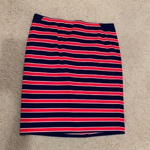 The Limited Skirts - The Limited NWOT Red White Blue Pencil Skirt